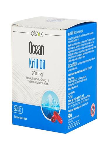 Ocean Ocean Krill Oil 700mg 30 Kapsül Renksiz